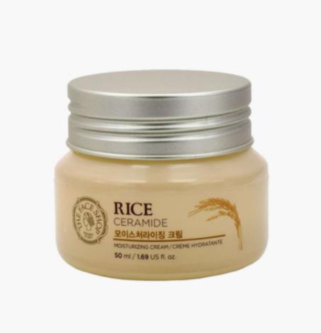 The Face Shop Rice-Ceramide Moisturizing Cream - best skincare brands in india