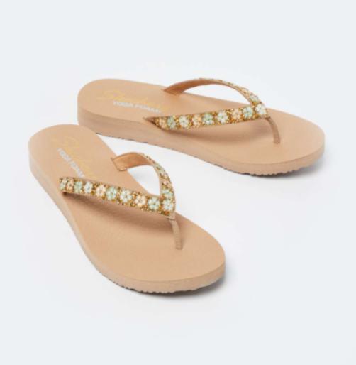 SKECHERS Women Embellished Flip Flops