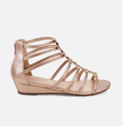TRESMODE Solid Gladiator Sandals