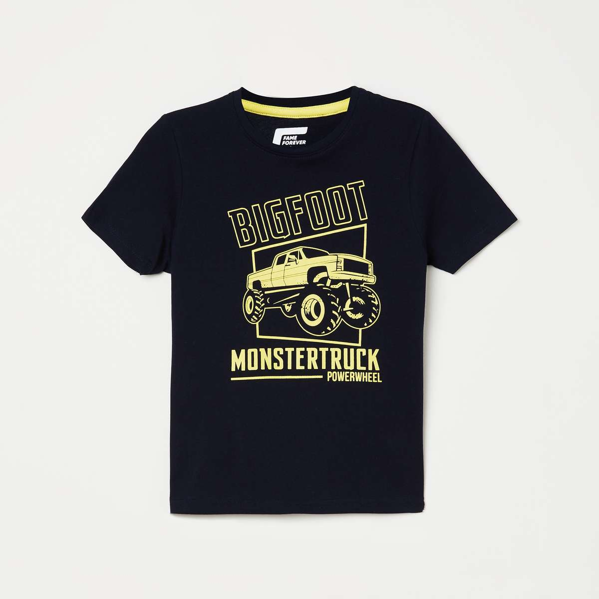2.FAME FOREVER KIDS Boys Graphic-Print Crew Neck T-shirt