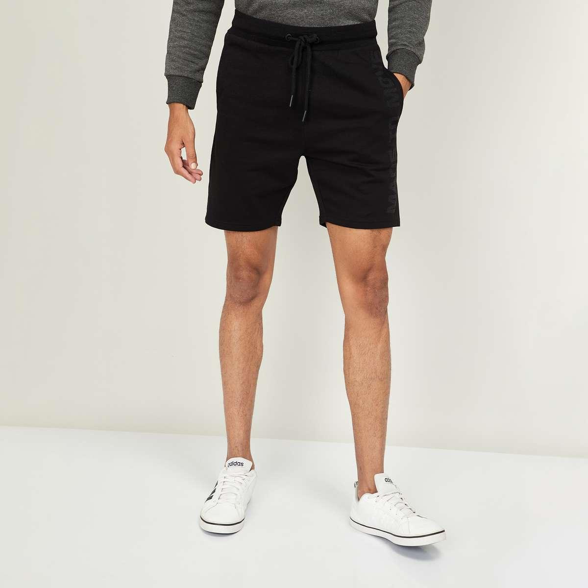 3.KAPPA Men Solid Elasticated Shorts