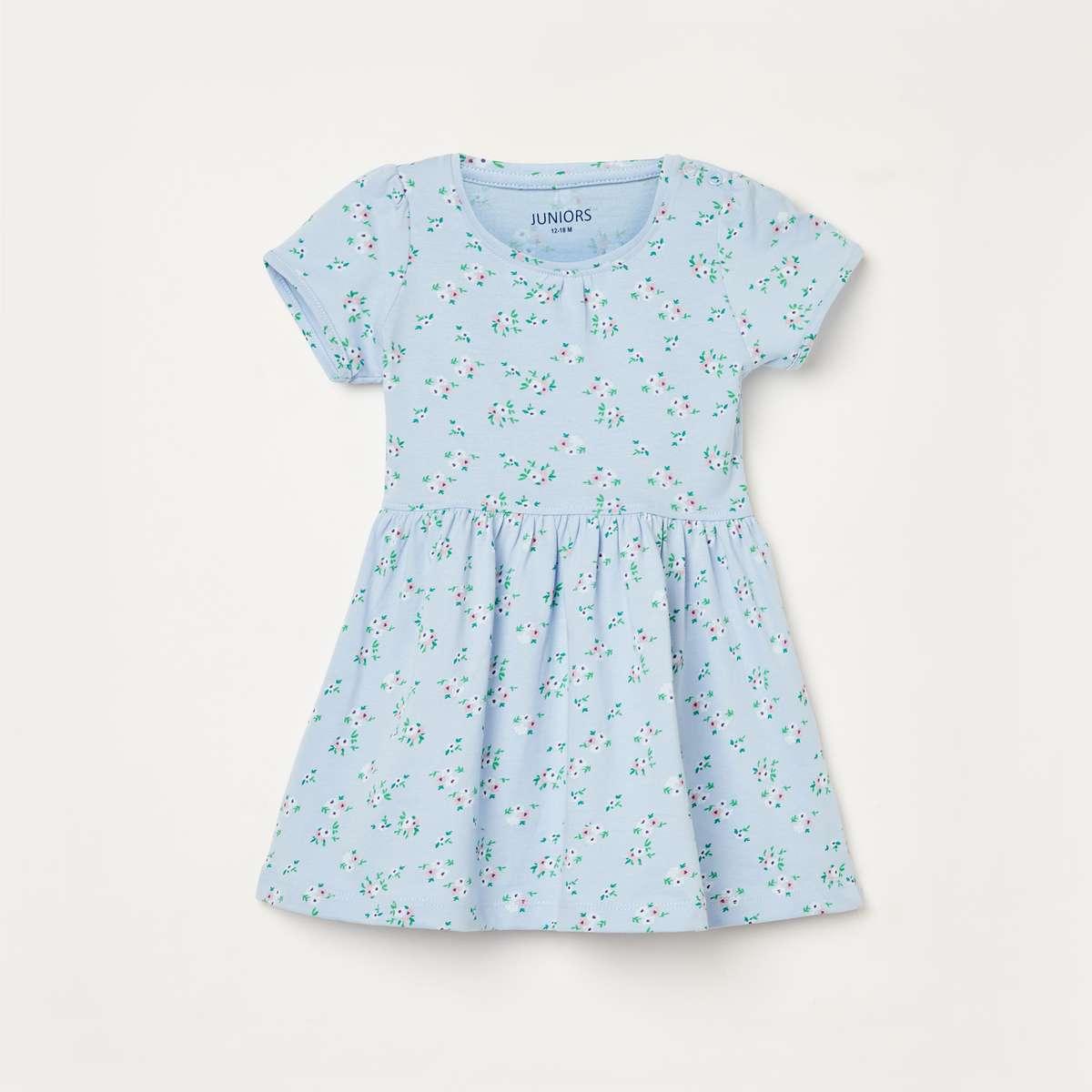 4.JUNIORS Girls Printed A-line Dress