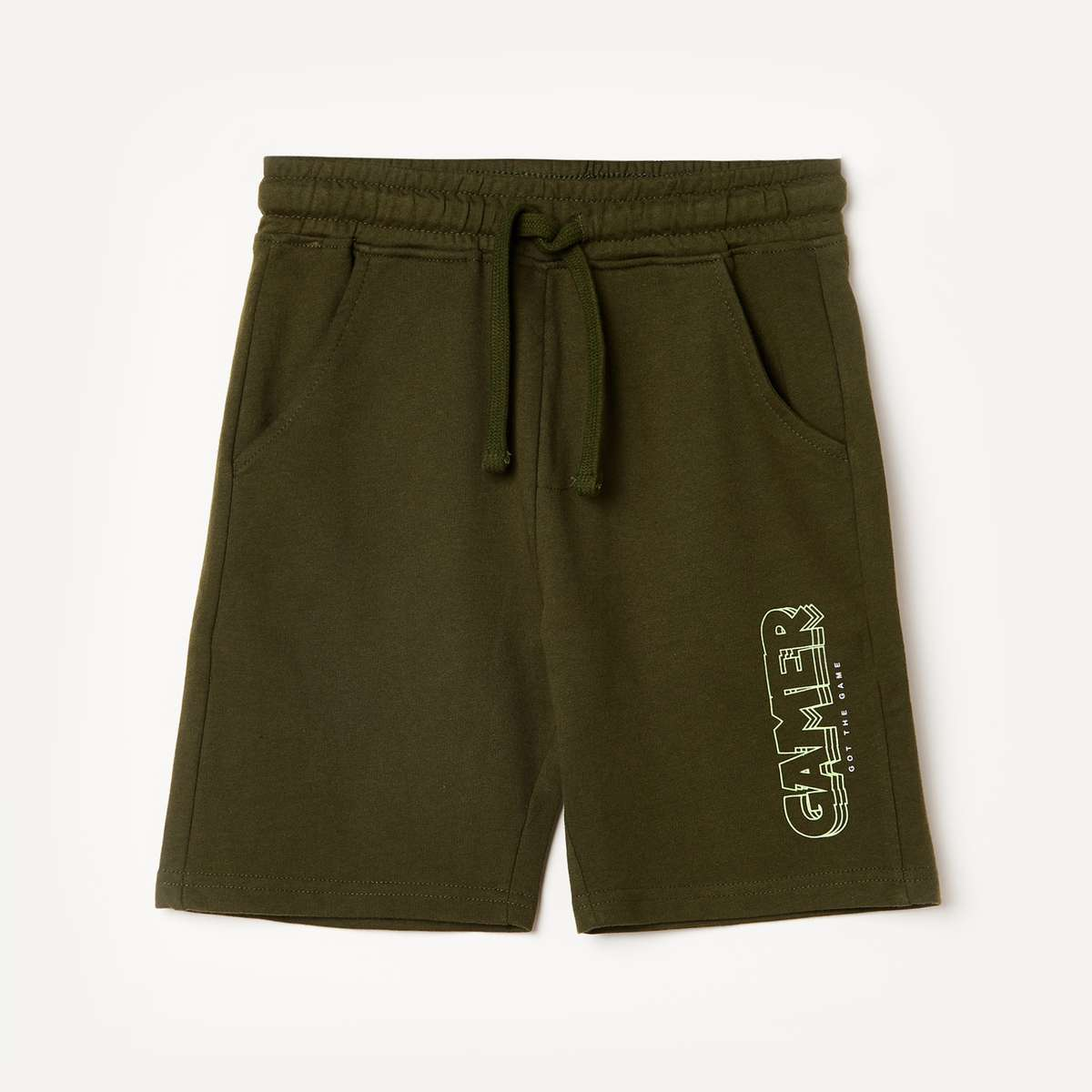 5.FAME FOREVER YOUNG Boys Printed Elasticated Shorts