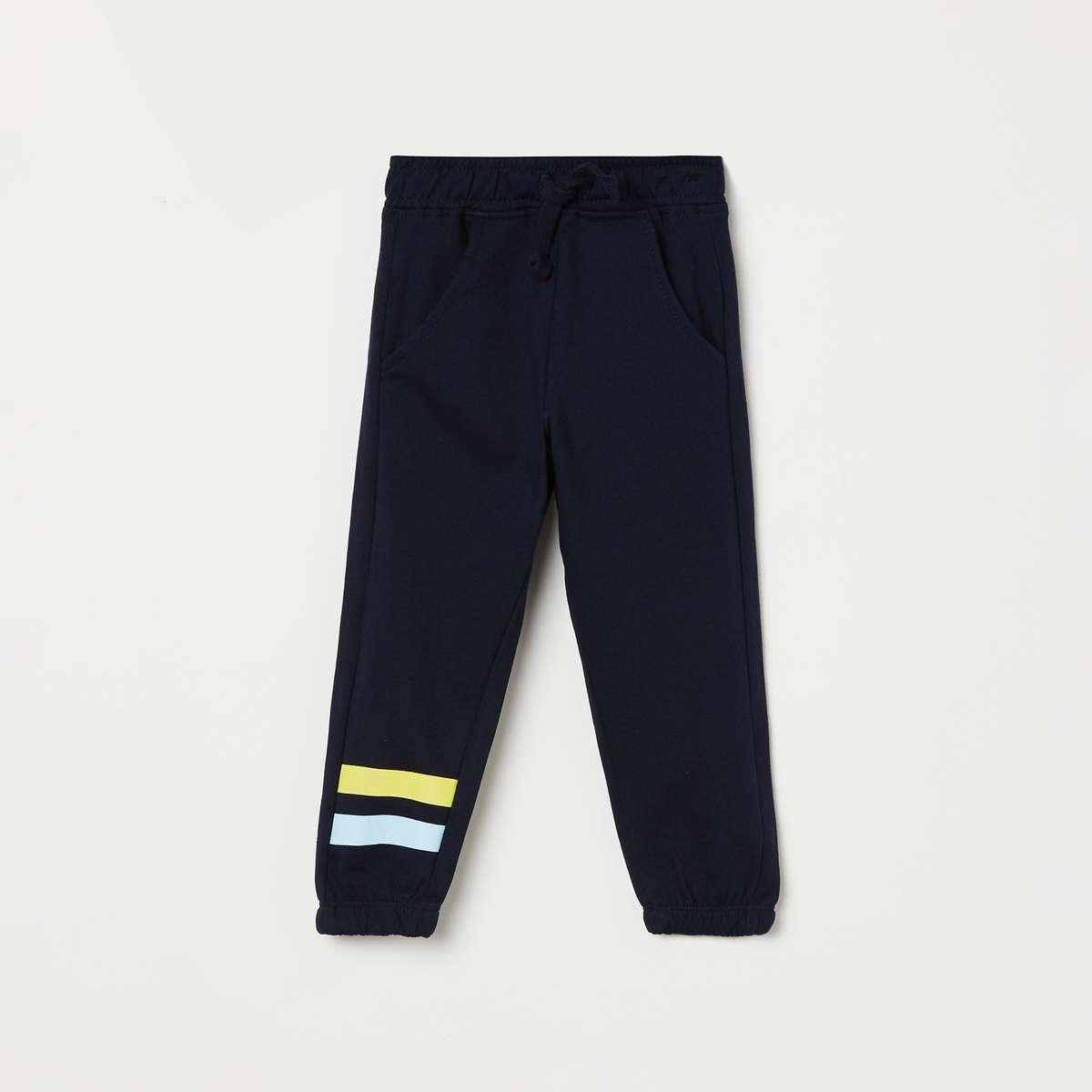 6.JUNIORS Boys Printed Track Pants