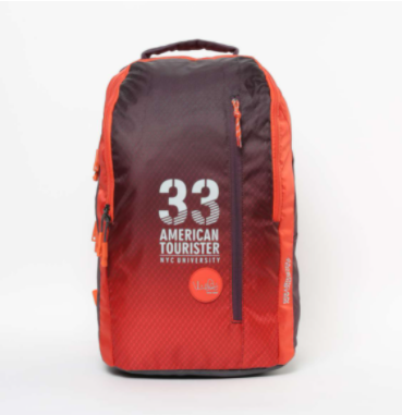AMERICAN TOURISTER Printed Zip-Closure Backpack - Types of bags