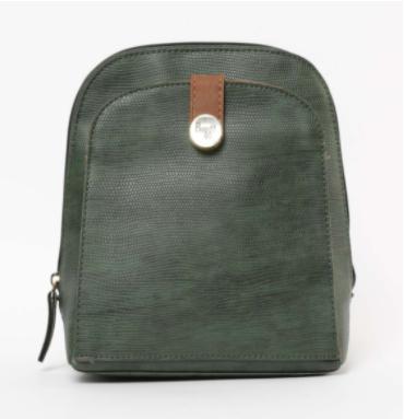 BAGGIT Reptilian Pattern Backpack - Baggit by Lifestyle