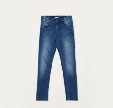 BOSSINI Boys Medium Wsh Skinny Fit Jeans - Bossini by Lifestyle