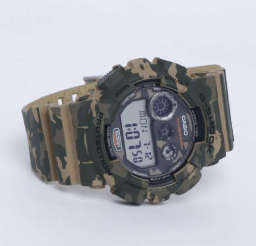 CASIO G-Shock Men Camouflage Analog-Digital Watch - lifestyle watches