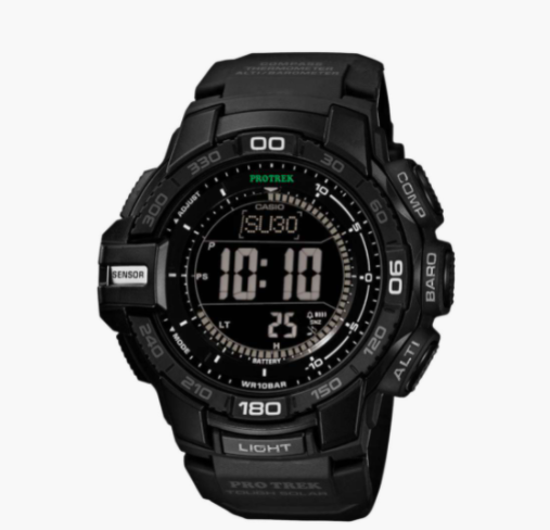 CASIO Protrek Men Triple Sensor Analog-Digital Watch - lifestyle watches