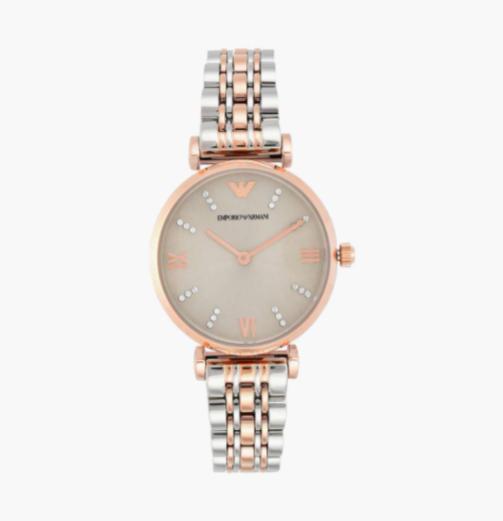 EMPORIO ARMANI Gianni T-bar Women Analog Watch - lifestyle watches