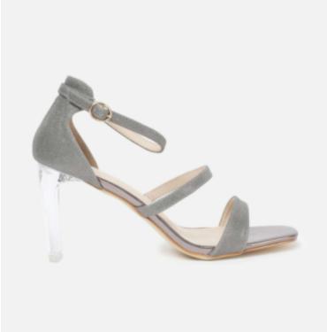 GINGER Women Solid Ankle-Strap Block Heels