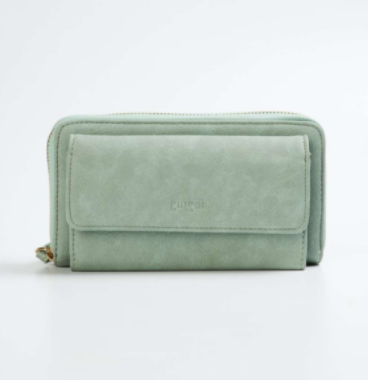 GINGER Women Solid Zip-Closure Wallet