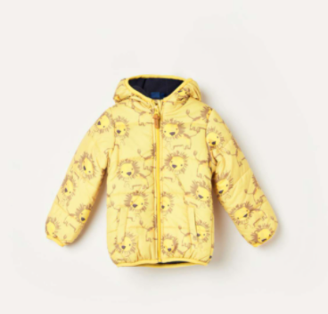 JUNIOR Boys Printed Hooded Puffer Jacket - Junior by Lifestyle