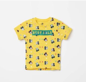 JUNIORS Printed Crew Neck T-shirt - Juniors by Lifestyle