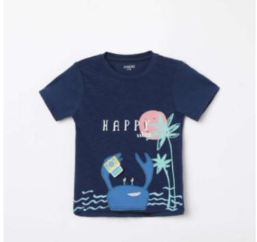 JUNIORS Printed Round Neck T-shirt - Juniors by Lifestyle