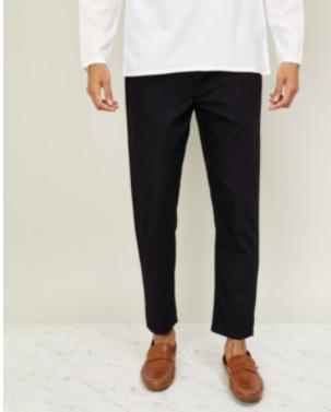 MELANGE Men Solid Elasticated Pyjamas - Melange by Lifestyle