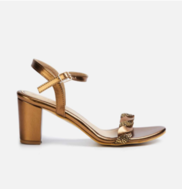 MELANGE Women Embellished Block Heels