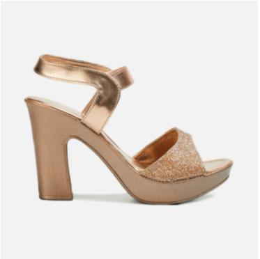 MELANGE Women Embellished Platform Heels