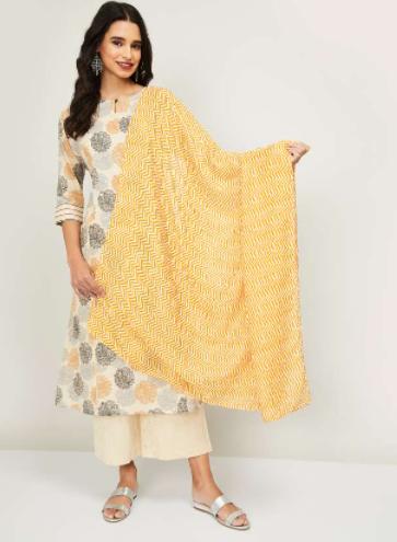 MELANGE Women Printed Dupatta - Melange by Lifestyle