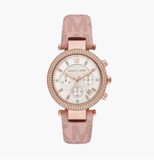 MICHAEL KORS Women Parker Embellished Chronograph Watch