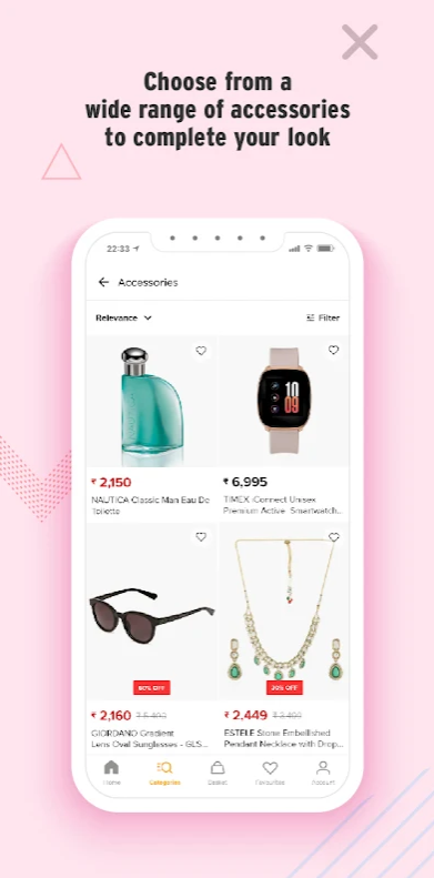 Perfumes, Watches & Sunglasses on Lifestyle App