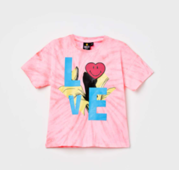 Printed short Sleeves T-shirt - smiley world from lifestyle