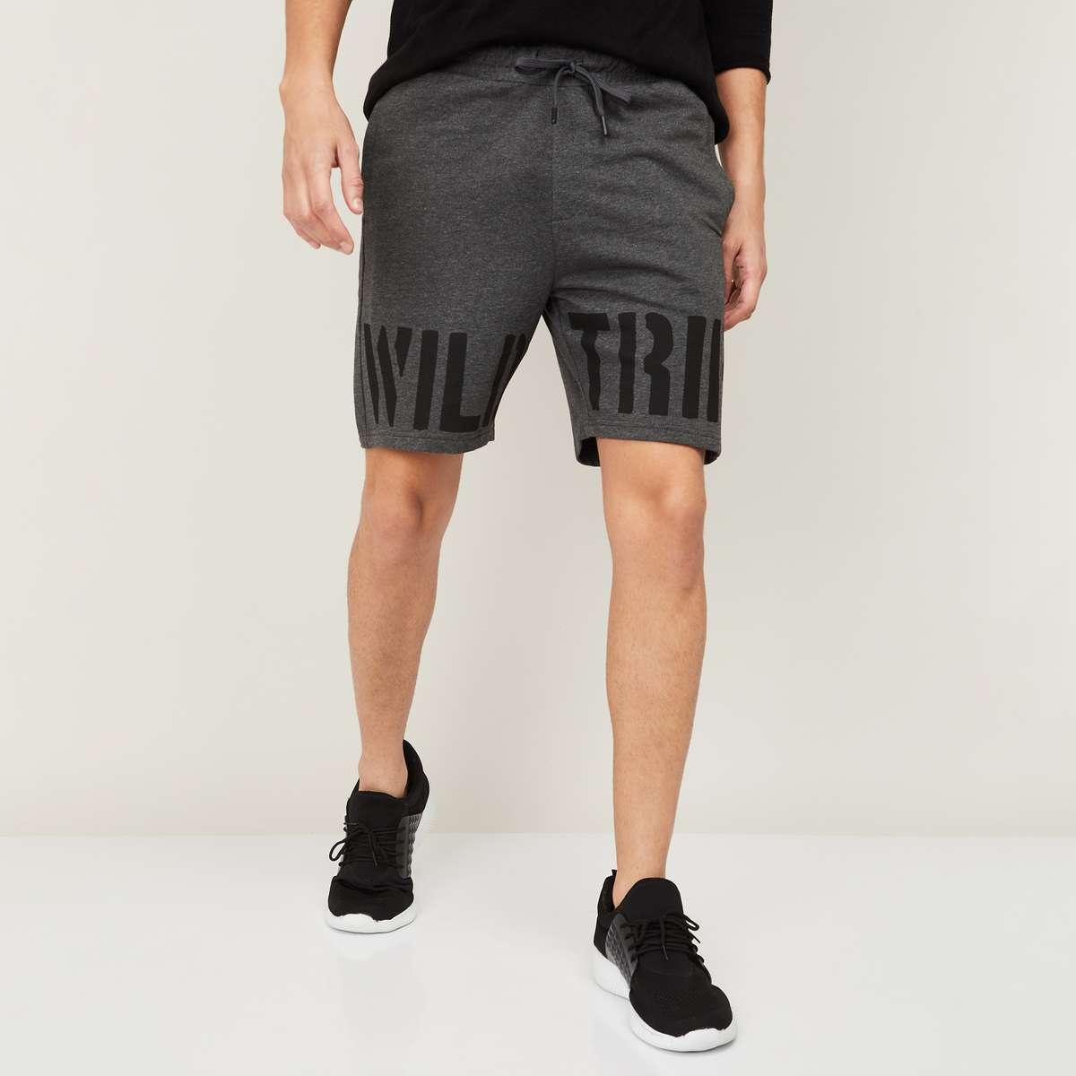 1.FORCA Men Printed Regular Fit Casual Shorts