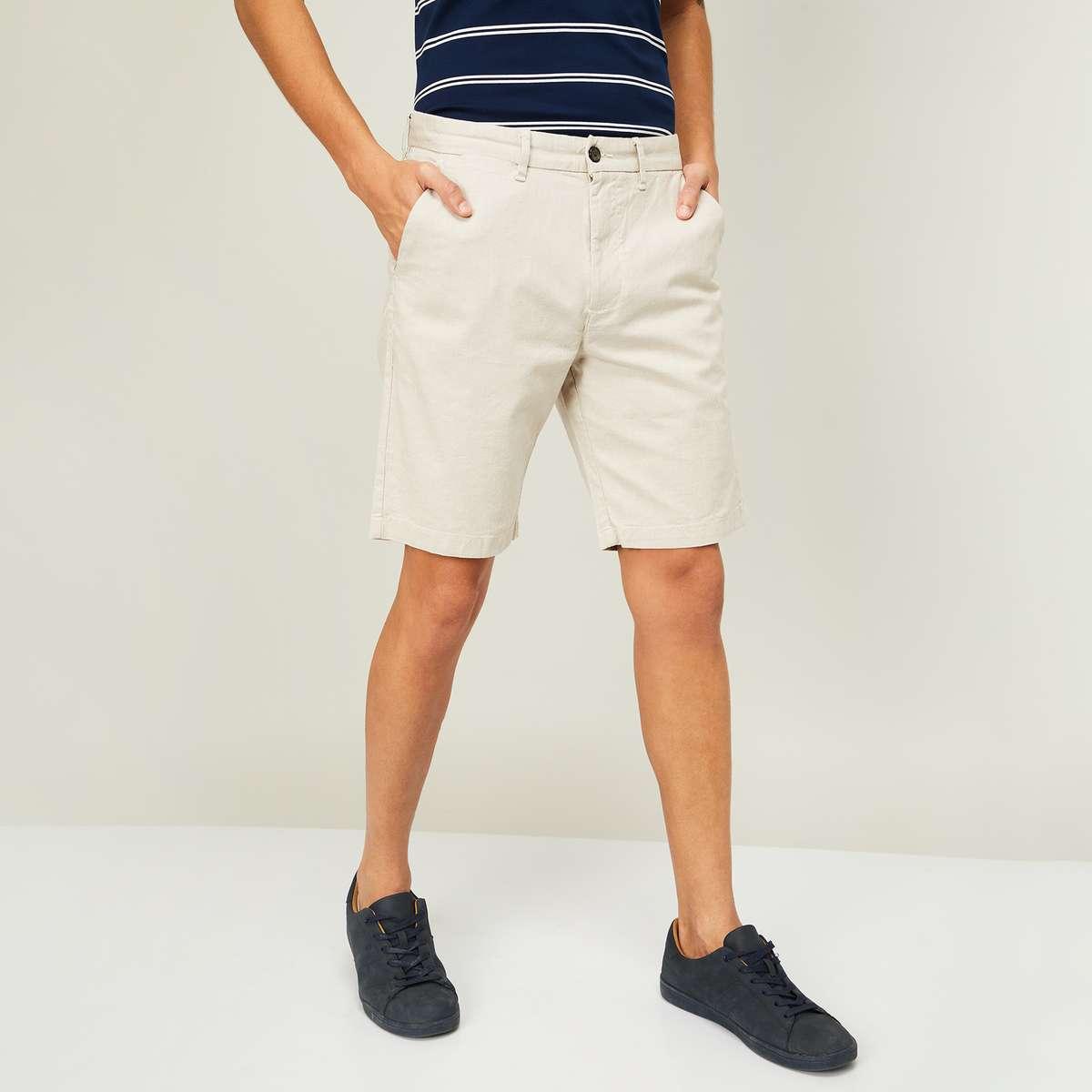 2.CODE Men Printed Woven Shorts