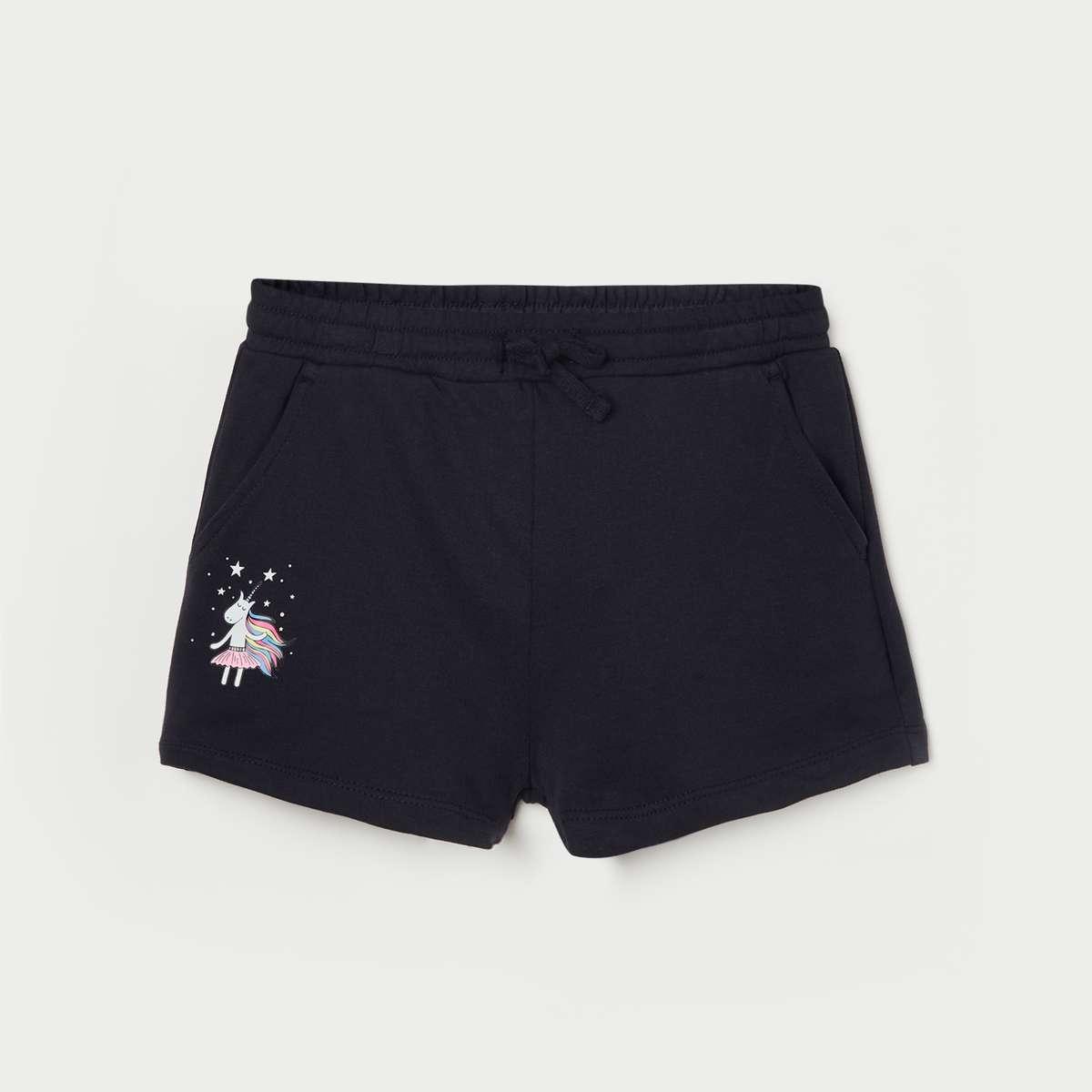 2.FAME FOREVER KIDS Girls Printed Shorts
