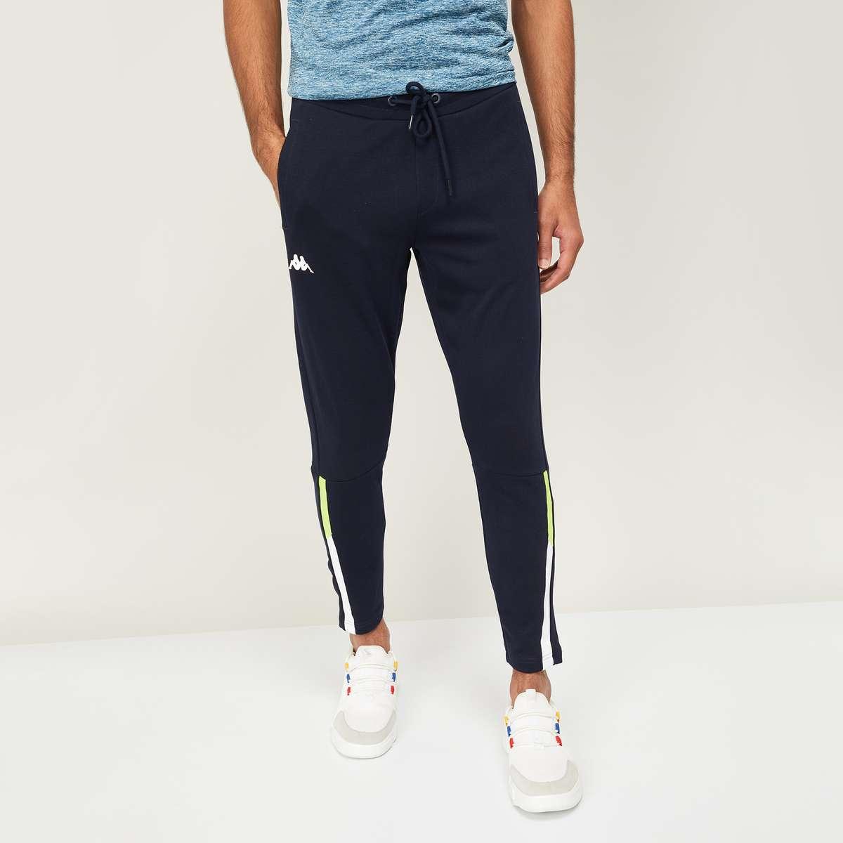 2.KAPPA Men Solid Slim Fit Joggers