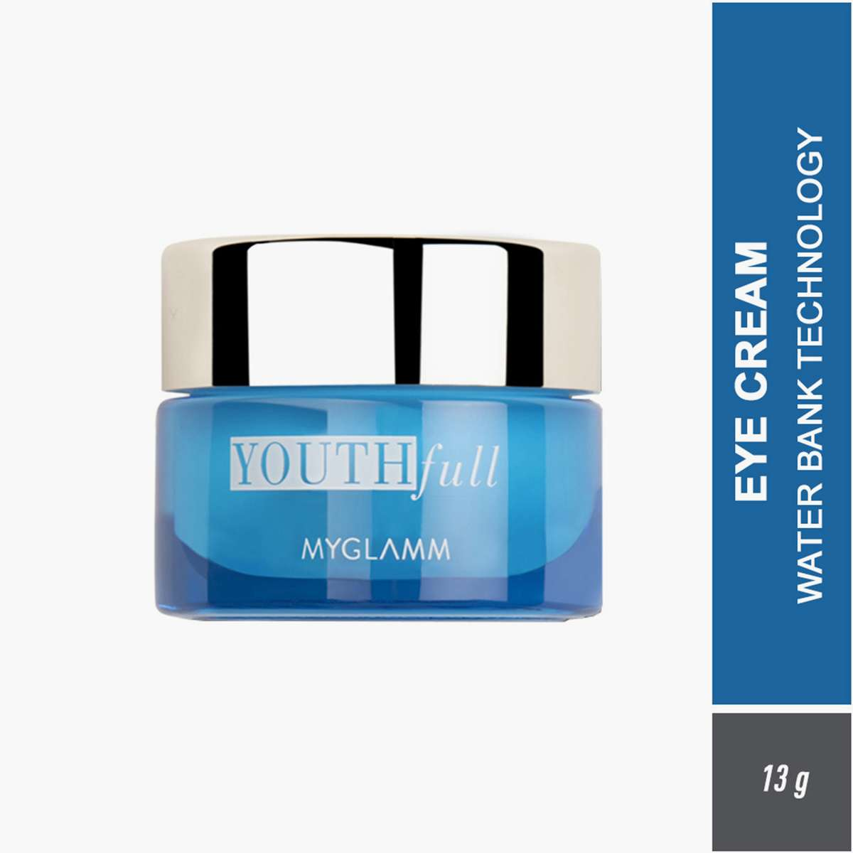 MYGLAMM Youthfull Hydrating Eye Cream With Water Bank Technology- 13g