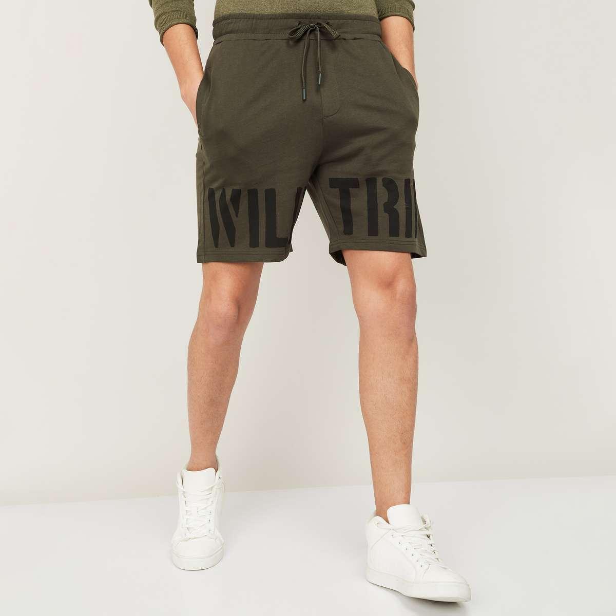 4.FORCA Men Printed Regular Fit Casual Shorts