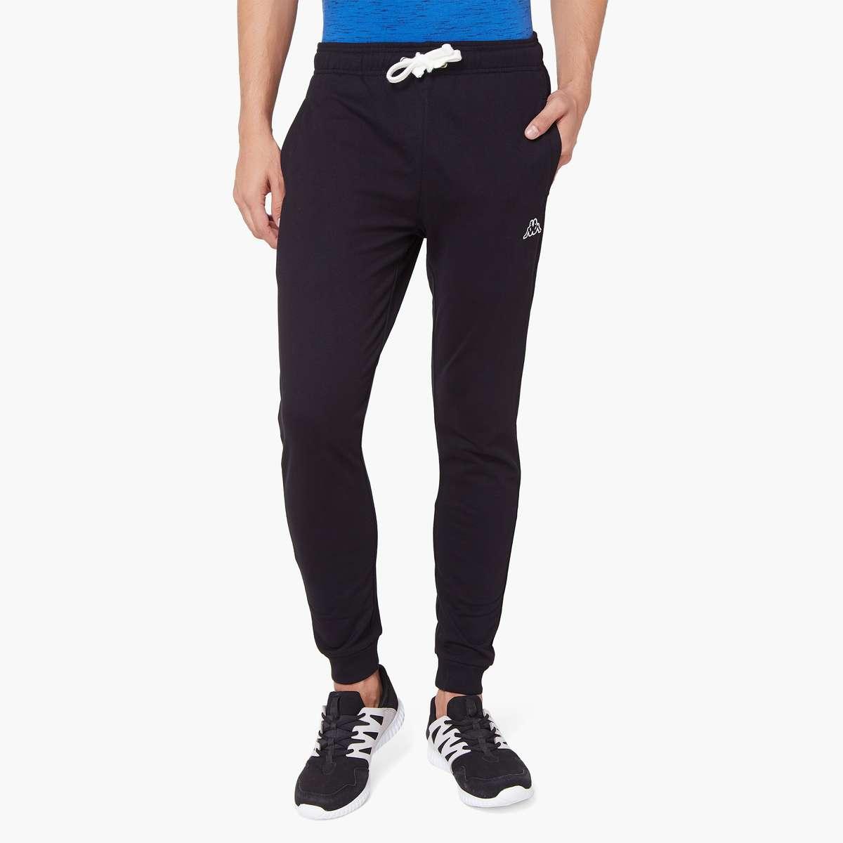 5.KAPPA Solid Jogger Trackpants
