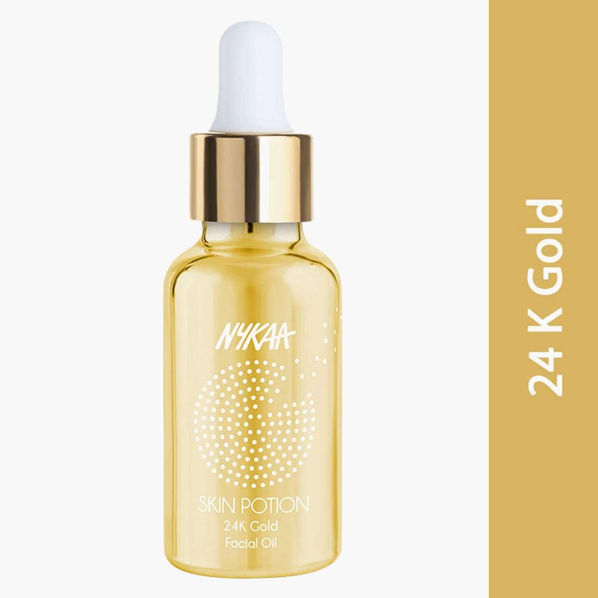 NYKAA Skin Potion 24K Gold Face Oil