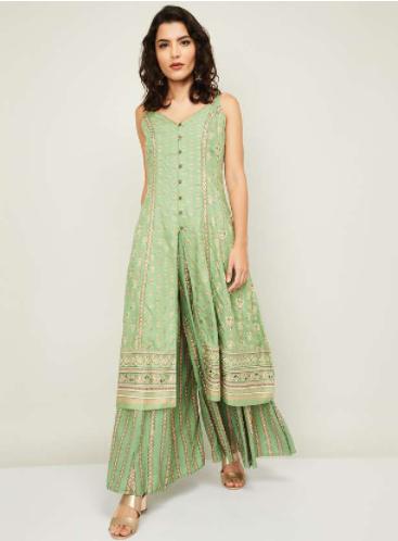 GLOBAL DESI Women Ethnic Salwar Suit Set